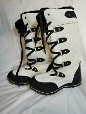 Great condition Aldo white snow boots size 6.5 US. Only used once!!!