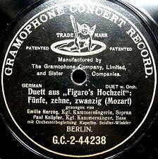 0583/ EMILIE HERZOG-Fünfe,zehne,zwanzig-Duett Paul Knüpfer-G+T-78rpm Schellack