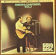 "Simon And Garfunkel Vol. 1 4 Tracks EP Japan 7"" Vinyl SDOPD 1"