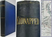 KIDNAPPED:1st EDITION/1st ISSUE*1886*ROBERT LOUIS STEVENSON:HIGHLANDS/JACOBITE