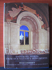 Etched in Stone -Ryan Coonerty- Words on U S Monuments - 2008 HCDC National Geo