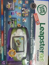 Leap Frog Leapster GS Explorer Ultimate Learning Game System w/Camera Complete