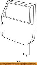 Jeep CHRYSLER OEM 11-16 Wrangler Front Door-Shell Frame Panel Right 68079596AE