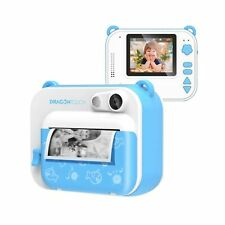 Dragon Touch InstantFun Instant Print Camera for Kids, Zero Ink Toy Camera wi...
