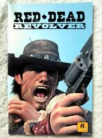 73812 Instruction Booklet - Red Dead Revolver - Sony PS2 Playstation 2 (2004) SL