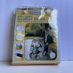 Graco Deluxe Stroller Weather Shield Brand New