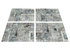 MODULAR 6'x4' Urban Skirmish game board -  gaming mat KILL TEAM 40k warhammer