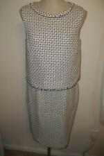 BROOKS BROTHERS Black &White Sleeveless Top & Skirt Outfit Suit   8