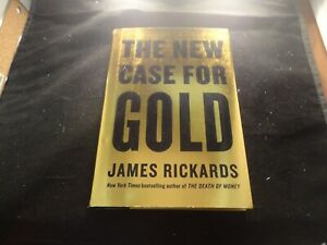 The New Case for Gold by James Rickards-Hardcover-Like New