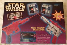 Star Wars Lazer Tag Rebel Infantry Deluxe Pack Tiger 1997 MIB Brand New