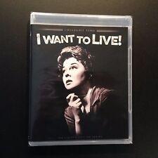 I Want To Live! (Blu-ray, 2016, (1958), Twilight Time, Susan Hayward Film Noir)