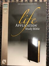 Bible: NASB Life Application Study Bible by Zondervan (Bonded Leather)
