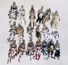 LARGE LOT STAR WARS action figures STORM TROOPERS Mixed loose ship parts