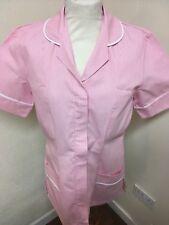 Uniform Pink / White Stripe  Tunic  Nurse, Care  Uniforms , Beauticians