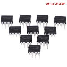 10 Pcs LM358P OPAMP DUAL 0-70DEG C 8-DIP -