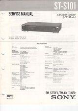 Sony-st-s101 - Service Manual grafico-b2930