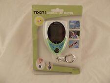 Kello TK-071 Digital UV Meter Keychain w/Alarm Clock, Calendar, Temp K5 H