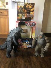 Godzilla Jakks 2014 Giant Size 40?? Lanard Kong 18? Skull Island Mega Figure