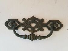 "door pull Cabinet handle Brass ornate drawer Furniture Knob Hardware 7x3"""