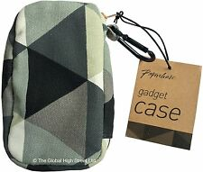 Paperchase Gadget Case Grey Triangles *100% authentic* *BNWT*