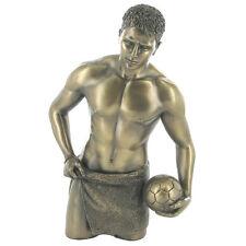 """lean on me"" Cold Cast Escultura de Bronce Desnudo Masculino Figura Erótica Nuevo y Sellado"