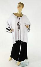 Mehrfarbige 3/4 Arme Damenblusen,-Tops & -Shirts für Freizeit ohne Mehrstückpackung