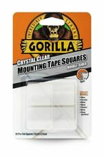 Gorilla 3044111 Pack of 24 Mounting Tape Squares (3044111) - Clear