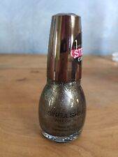 Sinful Shine Nail Polish Gel Tech 4 STEP1 Color DIAMOND IN THE RAW #1626 Silver
