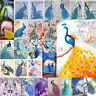 5D Peacock Diamond Embroidery Painting DIY Cross Stitch Craft Kit Home Art Decor