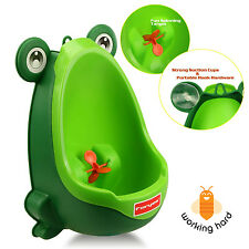 BOY FROG POTTY TRAINING Urinal Funny Pee Trainer Toilet Boys Kids Bathroom
