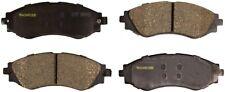 Disc Brake Pad Set-Total Solution Ceramic Brake Pads Front Monroe CX797