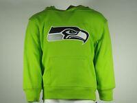 NFL Seattle Seahawks Toddler Size Football Hooded Sweatshirt Front Pocket New