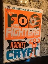 Los Foo Fighters Rare Promo Tour From Rocket El Crypt 24X18 Mint