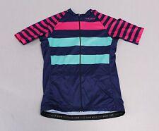 Voler Women's Short Sleeve Prestige Velocity Cycling Jersey LP7 Fuschia Medium