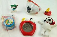 Vintage Snoopy and Woodstock Peanuts Character Lot of Toys