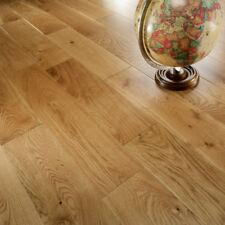 Engineered Wood Flooring, Smooth UV Lacquered Oak Flooring, Narrow, HDF