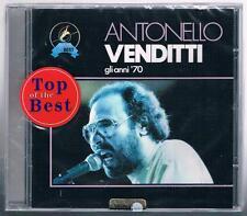 ANTONELLO VENDITTI GLI ANNI '70 CD SIGILLATO!!!