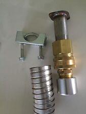 Genexhaust For Honda Eu6500iseu7000is Inverter 1 12 Qd Steel Exhaust Ext 8 Ft
