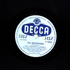 KEN COLYER JAZZ 78  THE ENTERTAINER / IF I EVER CEASE TO LOVE UK DECCA F10519 E-