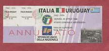 Original Ticket   22.04.1989 in Verona   ITALIEN - URUGUAY  / B  !!  SEHR SELTEN