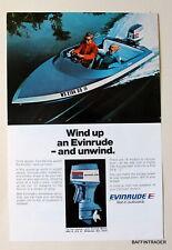 Evinrude Outboard Motor - Magazine 1973  Print Ad  7 x 10