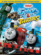 THOMAS & FRIENDS: SPILLS & THRILLS NEW DVD