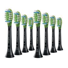 8x Philips Sonicare DiamondClean Smart W3 Premium Brush Heads | Black | w/o Box