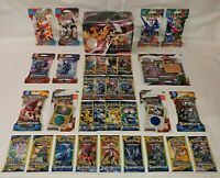 Lot of 39 Pokemon Packs - 2020 Fall Collector's Chest Promo & Sleeved Packs PLUS