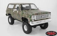 RC4WD 1/10 Truck Body Shell CHEVY BLAZER K5 Hard Body w/ Interior DIGITAL CAMO