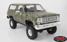 RC4WD 1/10 Truck Body Shell CHEVY BLAZER K5 Hard Body w/ Interior DIGITAL CAMO