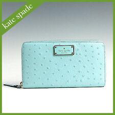 Kate Spade Wallet WLRU2169 A La Vita Ostrich Neda Agsbeagle