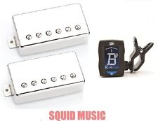 Seymour Duncan Slash APH-2s Alnico II Pro Set Nickel Covers (FREE GUITAR TUNER)