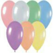 100 Pearl Assortment Latex Balloons Helium Grade 11""