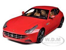FERRARI FF GT V12 4 SEATER RED ELITE EDITION 1/18 MODEL CAR BY HOTWHEELS W1105